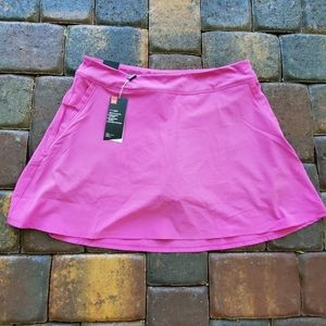 NWT Under Armour Fitted Heatgear Pink Skort Large
